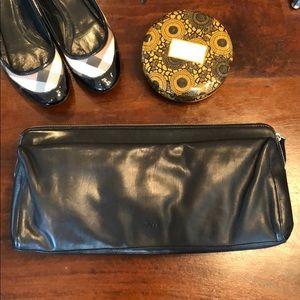 Handbags - HUGO BOSS large leather clutch